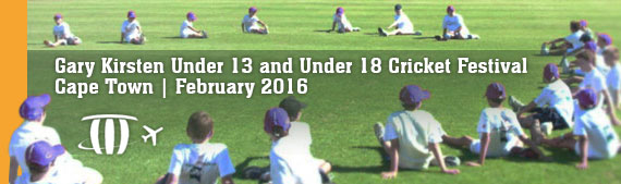 Gary Kirsten Under 13 and Under 18 Cricket Festival Cape Town February 2016